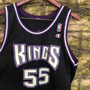 Vtg Jason Williams Champion NBA SAC Kings Jersey